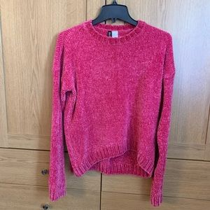 H & M Divided Chenille Sweater